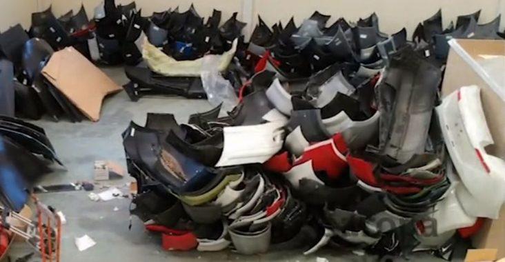 Cocjes robados y despiece en Pinto