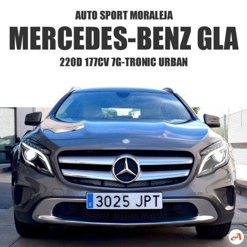 Mercedes-Benz Clase GLA 220D 177cv 7G-Tronic Urban