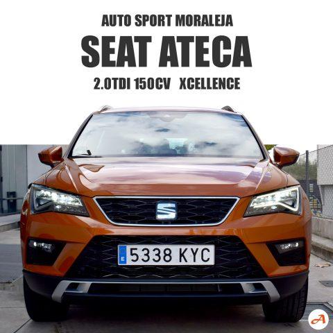 SEAT Ateca 2.0TDI 150cv Xcellence