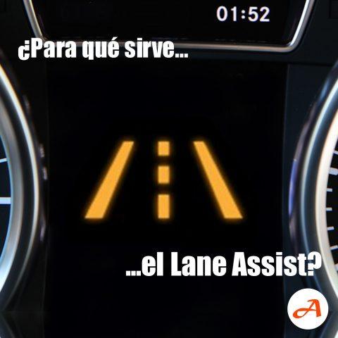 ¿Para qué sirve el Lane Assist?