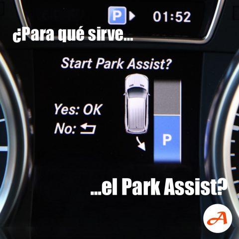 ¿Para qué sirve el Park Assist?