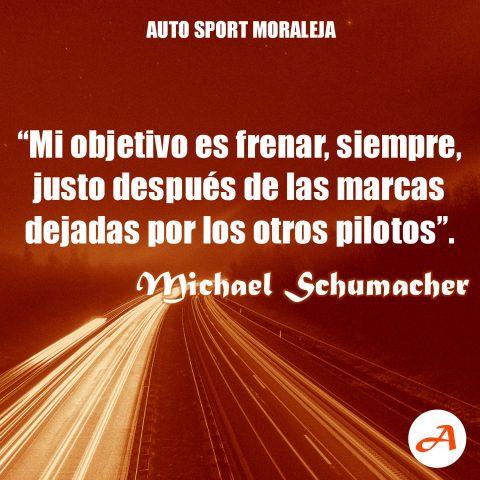 Frases del Motor - Michael Schumacher