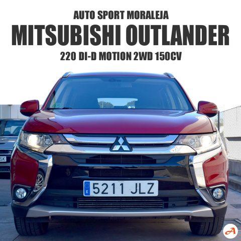 Mitsubishi Outlander 220 Di-D Motion 2WD 150cv
