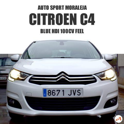 Citroen C4 Blue HDI 100cv Feel