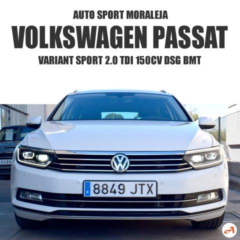 Volkswagen Passat Variant Sport 2.0TDI 150cv DSG BMT