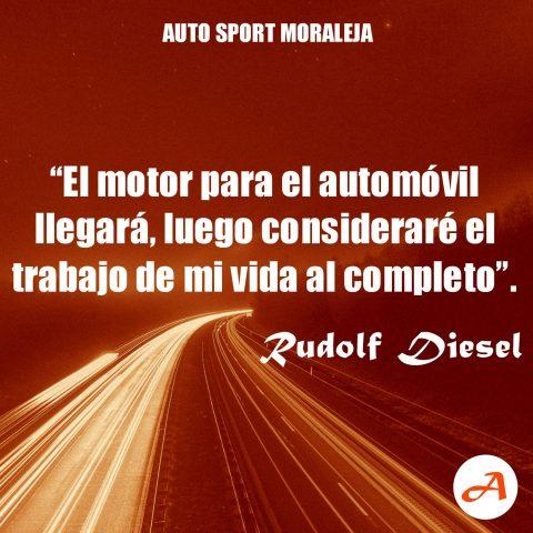 Frases del Motor - Rudolf Diesel