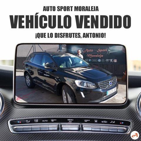 Antonio recoge su Volvo XC60 en Auto Sport Moraleja