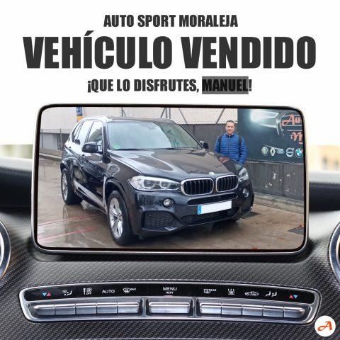 Manuel recoge su BMW X5 Xdrive 30d 258cv Pack M