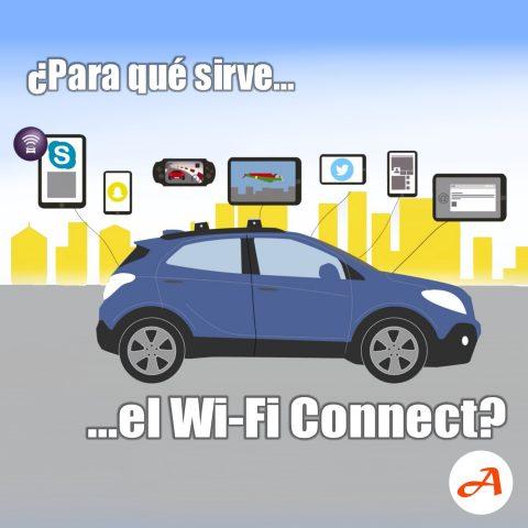 ¿Para qué sirve el WiFi Connect?