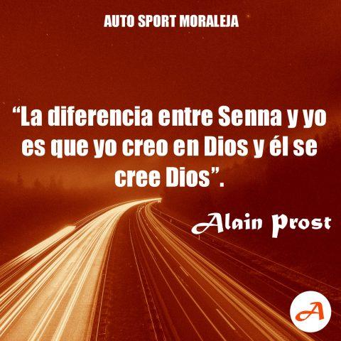 Frases del Motor - Alain Prost